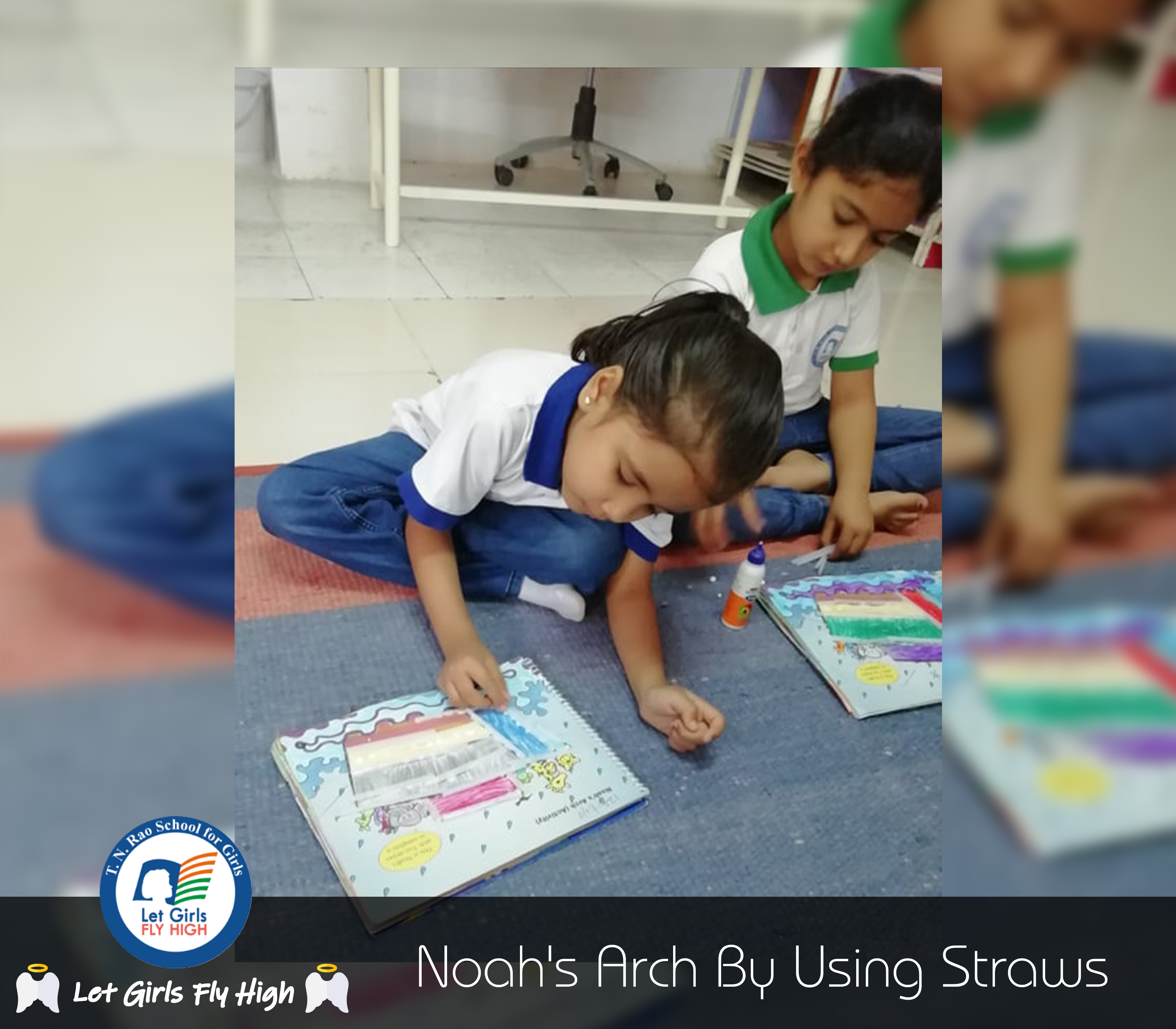 'Noah's Arch' Art Activity